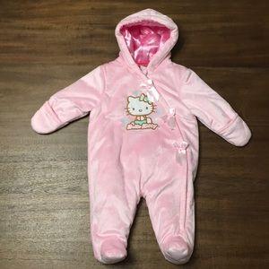 HELLO KITTY Onesie Outerwear. Infant 0/3 MOS